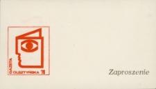 Zaproszenie na święto Gazety Olsztyńskiej 1976. [1]