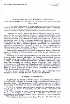 Zainteresowanie Stanisławem Hozjuszem wśród Polaków na Warmii w okresie międzywojennym (1920-1939)
