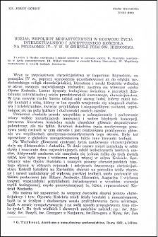 Udział wspólnot monastycznych w rozwoju życia intelektualnego i ascetycznego Kościoła na przełomie IV-V w. w świetle pism św. Hieronima