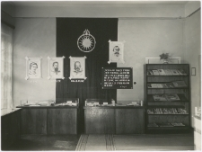 [Fragment wystawy kopernikańskiej w Wojewódzkiej Bibliotece Publicznej w Olsztynie w Starym Ratuszu. 2]