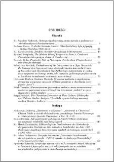 Studia Warmińskie T. 54 (2017) - spis treści