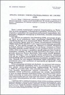 Sprawa synodu unicko-prawosławnego we Lwowie (1629)