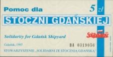 Cegiełka. Pomoc dla Stoczni Gdańskiej