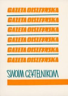 Zaproszenie na święto Gazety Olsztyńskiej 1976. [2]