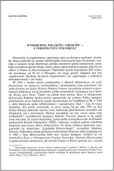 Wysiedlenia Polaków i Niemców : z perspektywy półwiecza