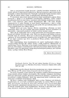 Encyklopedia Katolicka. T. VII, pod red. Ireneusza Wielgusa, Jerzego Duchniewskiego, Mirosława Daniluka : [recenzja]