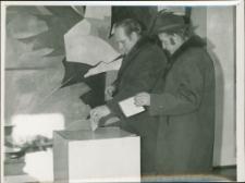 Wybory parlamentarne w Mrągowie. [7]