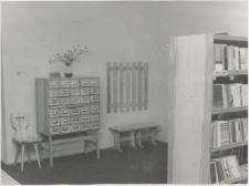 [Katalog kartkowy w Wojewódzkiej Bibliotece Publicznej w Olsztynie przy ul. Barcza – filia nr 18]