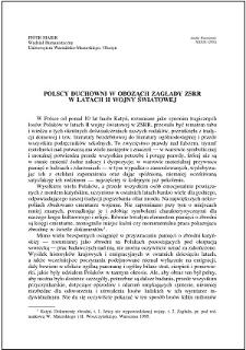 Polscy duchowni w obozach zagłady ZSRR w latach II wojny światowej