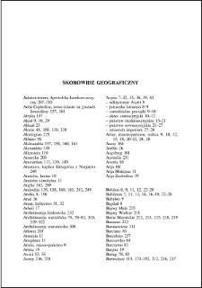Skorowidz geograficzny