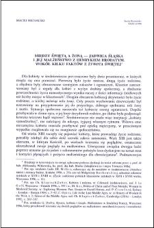 """Między świętą a żoną - Jadwiga Śląska i jej małżeństwo z Henrykiem Brodatym : wokół kilku faktów z """"Żywota"""" Świętej"""