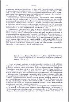 Róża Godula, Tomasz Węcławowicz, Polska legenda świętego Wojciecha. Spojrzenie antropologiczne : [recenzja]