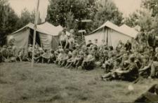 Obóz harcerski w Wierzbowie 1967
