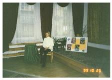 [Spotkanie z Emilią Raszyńską w Miejskiej Bibliotece Publicznej w Szczytnie]