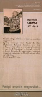 Pamięci artystów mrągowskich... Eugeniusz Choma