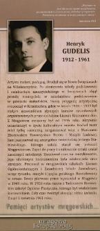 Pamięci artystów mrągowskich... Henryk Gudelis