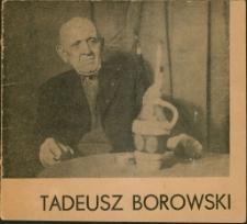[Portrety] Tadeusz Borowski