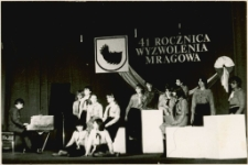 Udział harcerzy w obchodach 41 rocznicy wyzwolenia Mrągowa 1986. [3]