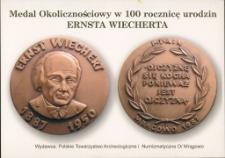 Medal okolicznościowy w 100 rocznicę urodzin Ernsta Wiecherta