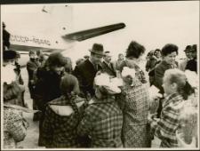 [Powitanie Konsula PRL Kazimierza Grynisa w Kijowie 1976]