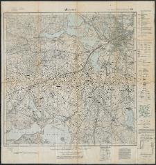 Allenstein. Messtischblatt 899