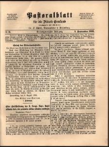 Pastoralblatt für die Diözese Ermland, 1891, nr 9