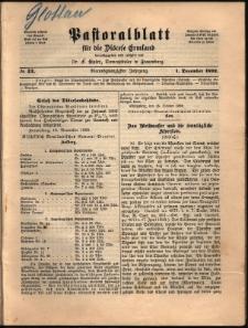 Pastoralblatt für die Diözese Ermland, 1892, nr 12