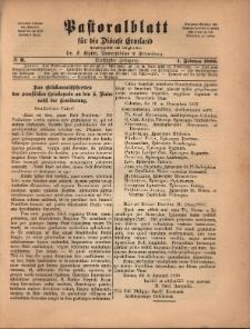 Pastoralblatt für die Diözese Ermland, 1898, nr 2