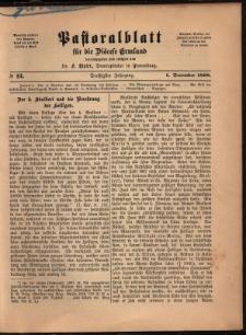 Pastoralblatt für die Diözese Ermland, 1898, nr 12