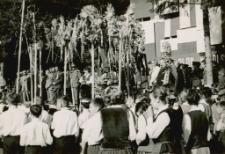 Wojewódzkie dożynki w Mrągowie 1968. [5]