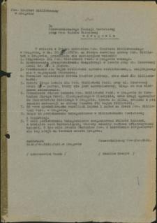 [Wnioski ze spotkania Powiatowego Komitetu Bibliotecznego w Mrągowie 1947]