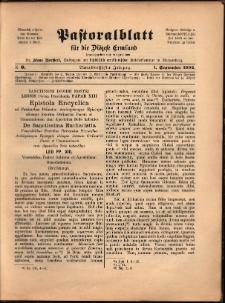 Pastoralblatt für die Diözese Ermland, 1902, nr 9