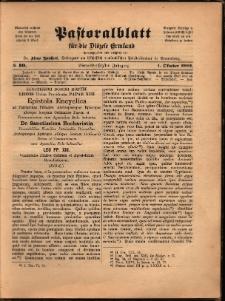 Pastoralblatt für die Diözese Ermland, 1902, nr 10