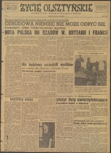 Życie Olsztyńskie : pismo ziemi warmińsko-mazurskiej, 1947, nr 71