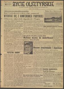 Życie Olsztyńskie : pismo ziemi warmińsko-mazurskiej, 1947, nr 72