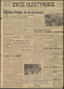 Życie Olsztyńskie : pismo ziemi warmińsko-mazurskiej, 1947, nr 85