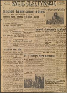 Życie Olsztyńskie : pismo ziemi warmińsko-mazurskiej, 1947, nr 93