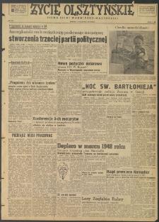 Życie Olsztyńskie : pismo ziemi warmińsko-mazurskiej, 1947, nr 107