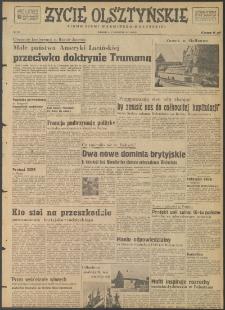 Życie Olsztyńskie : pismo ziemi warmińsko-mazurskiej, 1947, nr 108