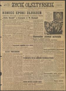 Życie Olsztyńskie : pismo ziemi warmińsko-mazurskiej, 1947, nr 115