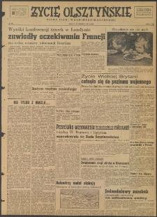Życie Olsztyńskie : pismo ziemi warmińsko-mazurskiej, 1947, nr 121