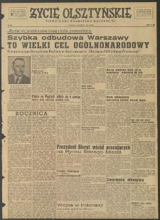 Życie Olsztyńskie : pismo ziemi warmińsko-mazurskiej, 1947, nr 124