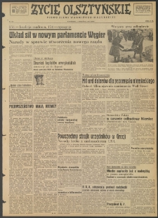 Życie Olsztyńskie : pismo ziemi warmińsko-mazurskiej, 1947, nr 126