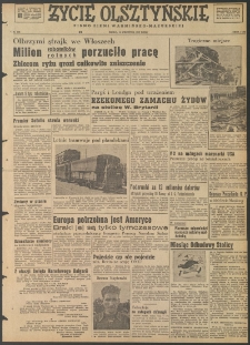 Życie Olsztyńskie : pismo ziemi warmińsko-mazurskiej, 1947, nr 132