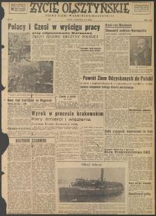 Życie Olsztyńskie : pismo ziemi warmińsko-mazurskiej, 1947, nr 134