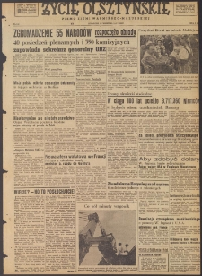 Życie Olsztyńskie : pismo ziemi warmińsko-mazurskiej, 1947, nr 140