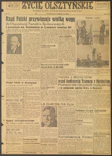Życie Olsztyńskie : pismo ziemi warmińsko-mazurskiej, 1947, nr 144