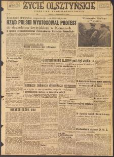 Życie Olsztyńskie : pismo ziemi warmińsko-mazurskiej, 1947, nr 156