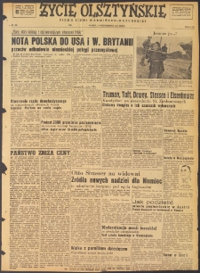 Życie Olsztyńskie : pismo ziemi warmińsko-mazurskiej, 1947, nr 162