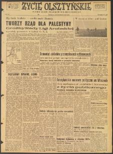 Życie Olsztyńskie : pismo ziemi warmińsko-mazurskiej, 1947, nr 164